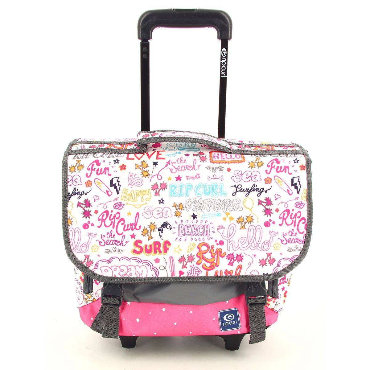 rip curl cartable roulettes fille star let wh satchel lbphx4. Black Bedroom Furniture Sets. Home Design Ideas