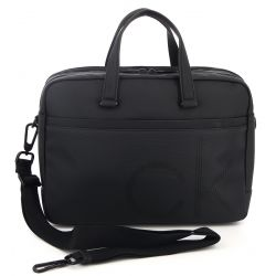 "Calvin Klein - Porte-documents ordinateur 15"" en toile enduite (k50k503876)"