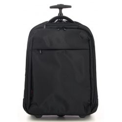 "Elite - Sac à dos trolley extensible 3 compartiments en toile ordinateur 17"" (4636)"