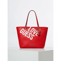 "Guess - Sac cabas femme tendance en simili-cuir ""LOVE GUESS"" Michy (hwgl7584230)"