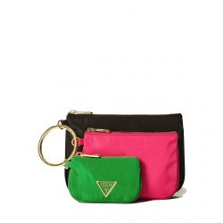 Guess - Ensemble de 3 pochettes maquillage en toile Did I Say 90? (pwdidi p8306)