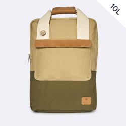 "Faguo - Sac à dos homme en coton local et polyester recyclé ordinateur 13"" Urban Bag (s20lu1902)"