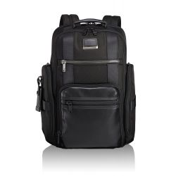 "Tumi - Sac à dos 2 compartiments ordinateur 15"" en nylon balistique Brief Pack® Sheppard Deluxe Alpha Bravo (103293)"