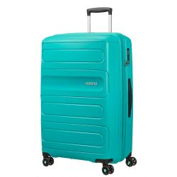 American Tourister - Valise rigide extensible taille XXL 77cm 4 roues 106/118 litres Sunside (107528)