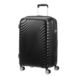 American Tourister - Valise rigide extensible taille moyenne 67cm 4 doubles roues 69.5/77.5 litres JetGlam (122817)