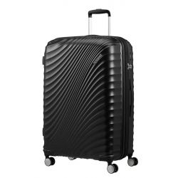 American Tourister - Valise rigide extensible taille XXL 77cm 4 doubles roues 97/109 litres JetGlam (122818)