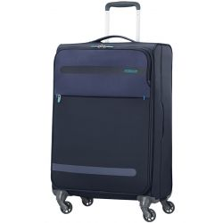 American Tourister - Valise rigide taille moyenne 67cm 4 roues 68 litres Herolite (80374)