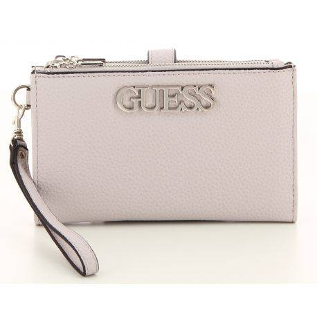 Guess - Grand portefeuille similicuir femme Uptown Chic (swvg73 01570)